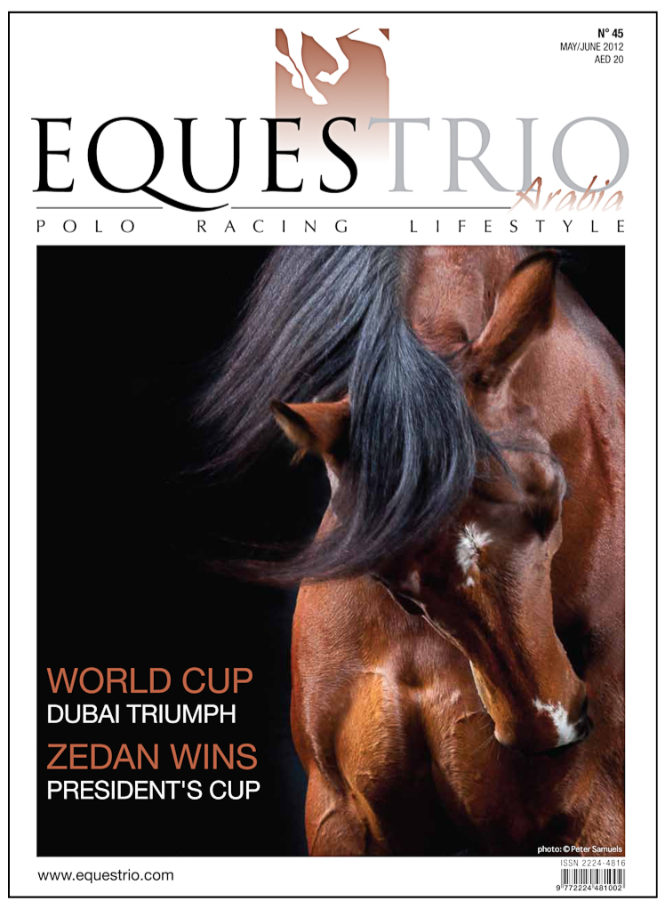 Equestrio magazine features my horse / equine fine art work