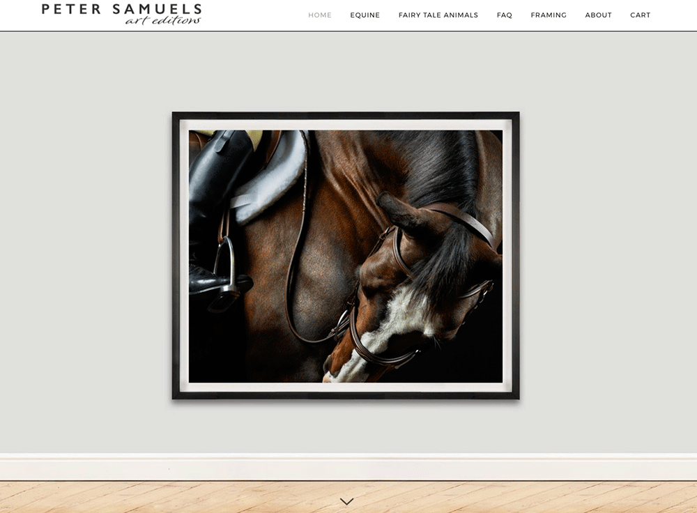 PS Art Editions, Framed fine art horse photography print sales